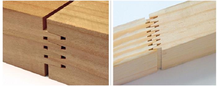 Cốt gỗ ghép thanh