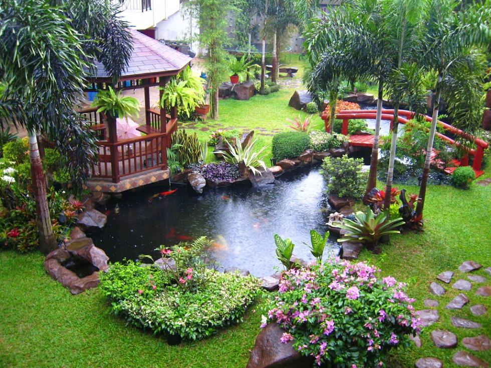 Nhà vườn kiểu truyền thống Nhật Bản