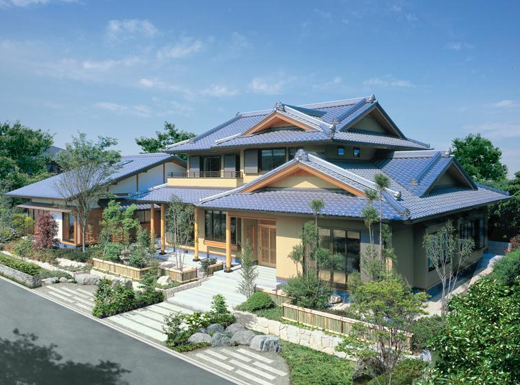 Mẫu biệt thự hiện đại Nhật Bản