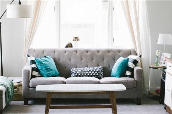 Phòng khách sử dụng những nội thất đồng bộ trong phong cách thiét kế