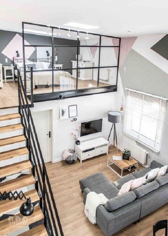 mẫu nhà cấp 4 hiện đại có gác lửng - một trong những ngôi nhà cấp 4 đẹp nhất thế giới