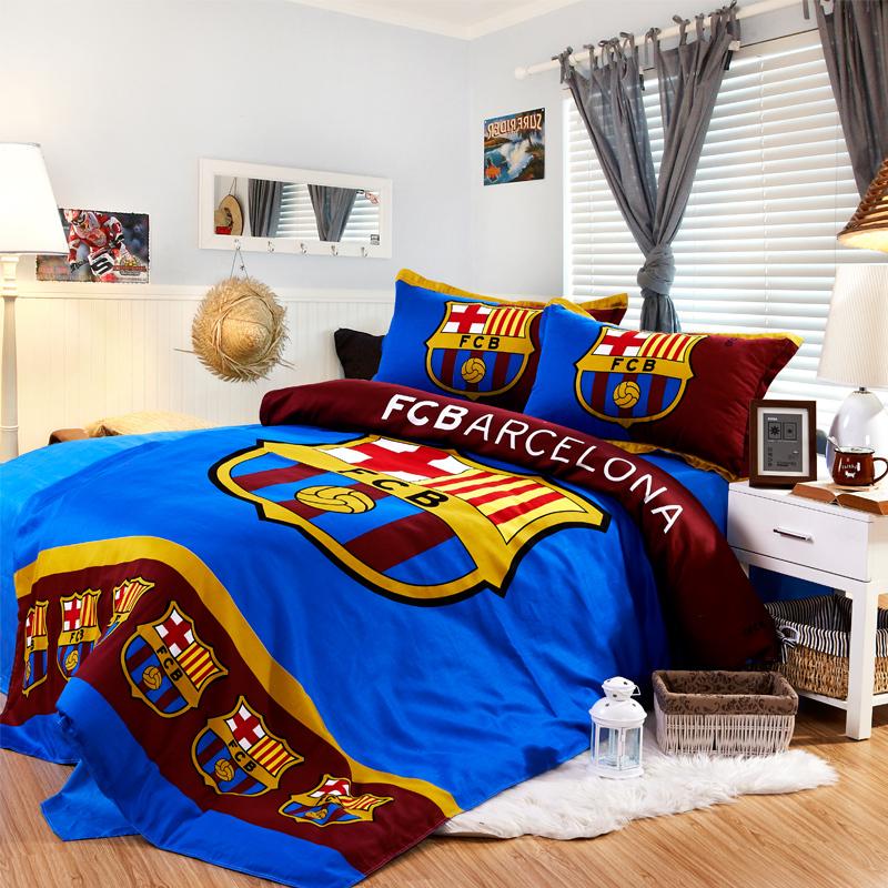 Chỉ với bộ ga giường, tất cả các fan barca đều bị hạ gục với mẫu thiết kế này