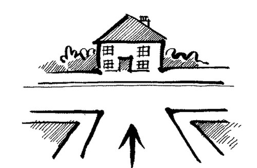 Nhà ở ngã ba đường là như thế nào?