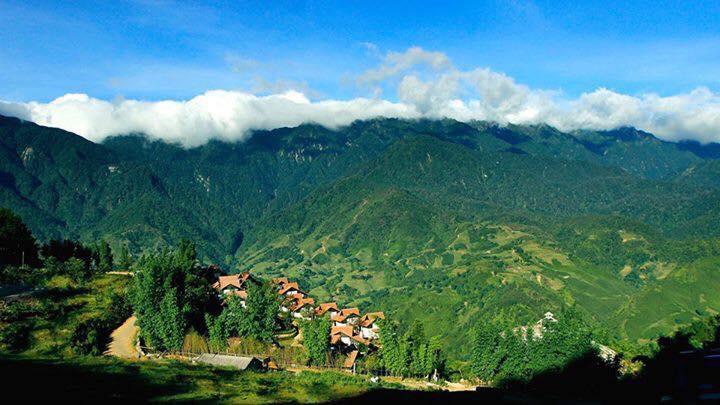 khu biệt thự mùa đông Summit Villas nằm ở triền núi Sapa