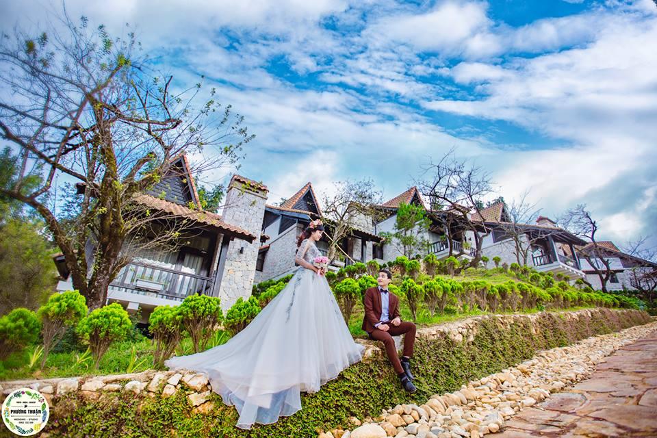 Địa điểm chụp ảnh lý tưởng tại biệt thự vườn mận Sapa Jade Hill