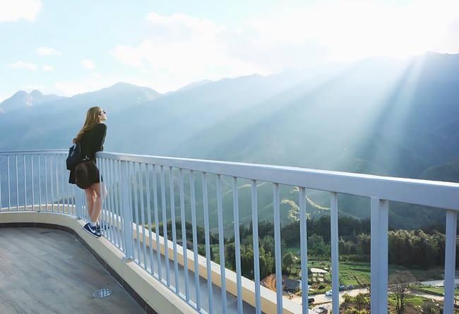 Thiên đường có thật trên đỉnh Sapa