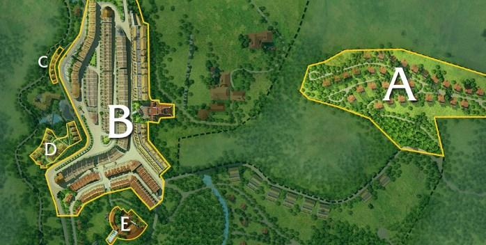 Sơ đồ quy hoạch tổng thể dự án Sapa Jade Hill