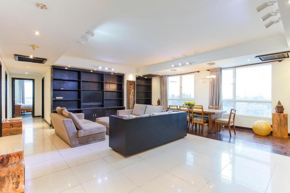 Xu hướng thiết kế nội thất hiện đại trong một căn hộ chung cư khác