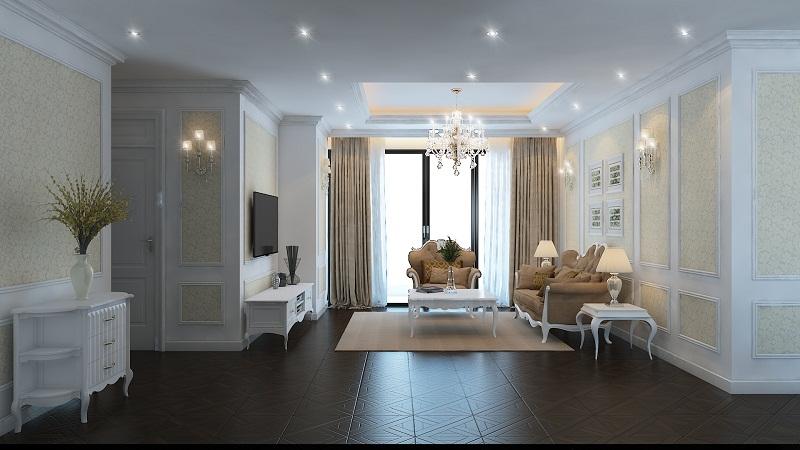 Các nội thất khác trong căn hộ cũng được trau chuốt rất tỉ mỉ