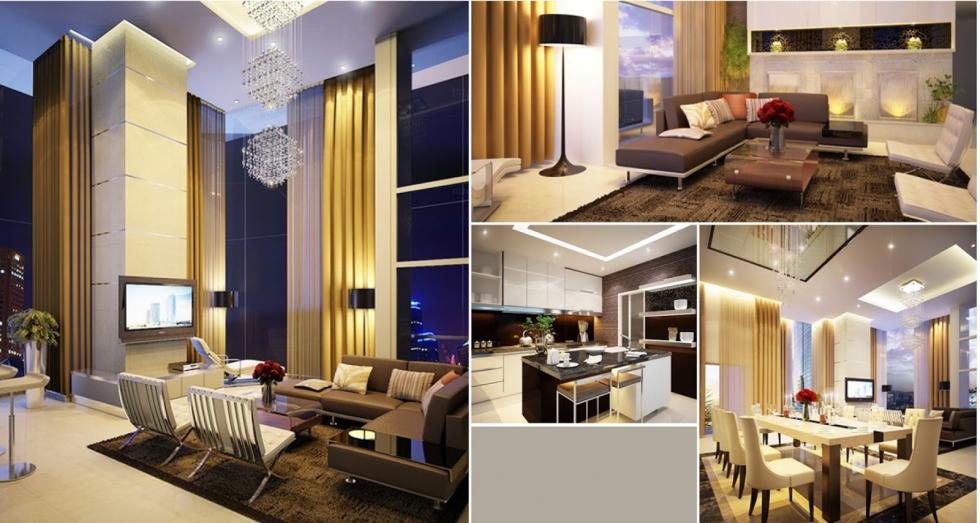 Mẫu thiết kế nội thất từ các phòng