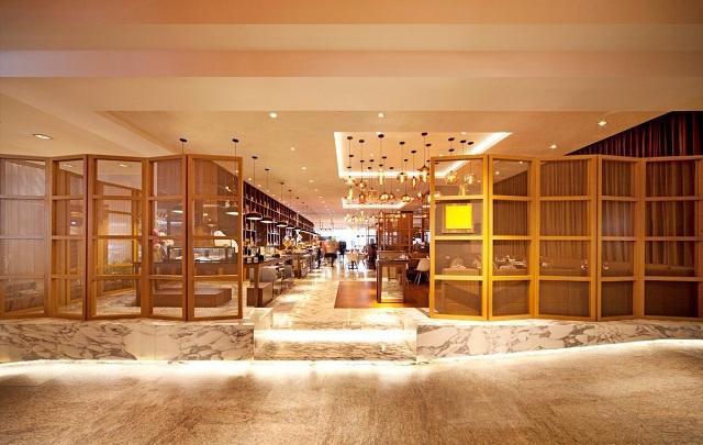 Không gian nội thất nhà hàng châu Âu Paris Deli