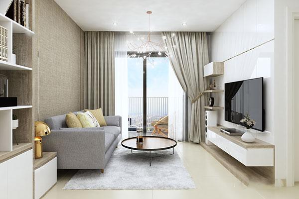 cải tạo căn hộ chung cư 50m2