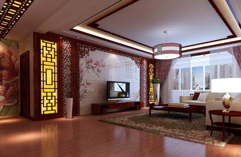 Mẫu thiết kế nội thất phòng khách cổ điển