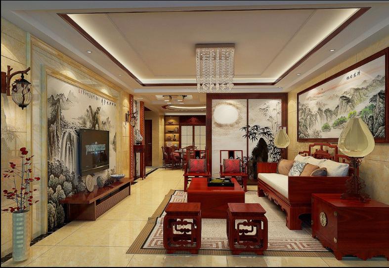 Mẫu phòng khách thiết kế cổ điển