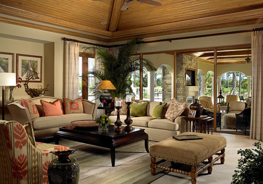 Những bộ bàn ghế là điểm nhấn trong thiết kế nội thất cổ điển