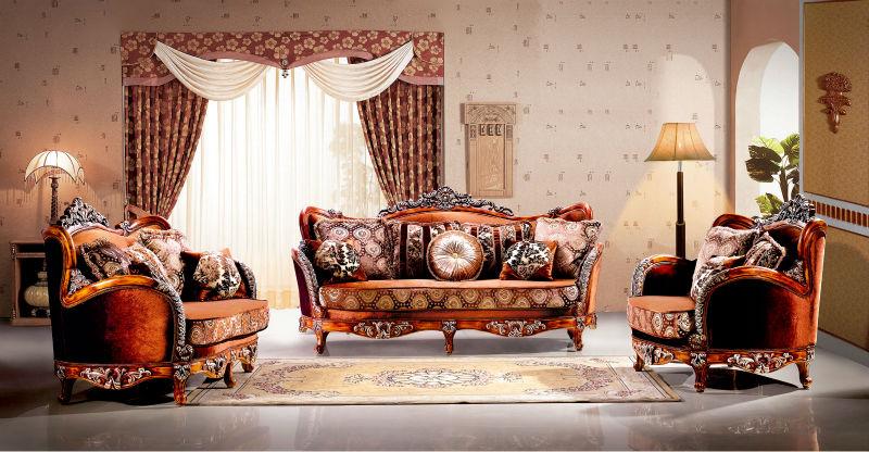 Đừng bỏ qua những tấm thảm trải sàn khi thiết kế phòng khách cổ điển