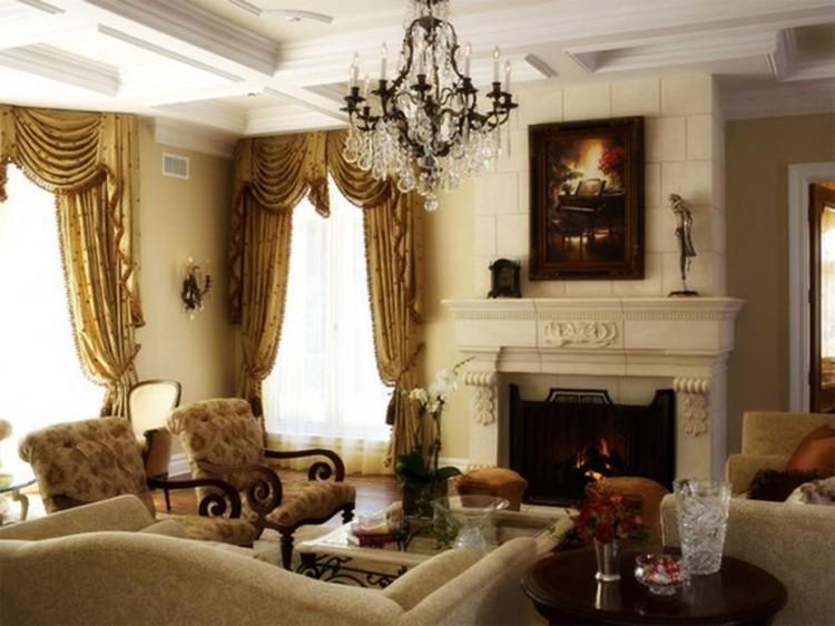 Bộ bàn ghế phòng khách theo phong cách cổ điển