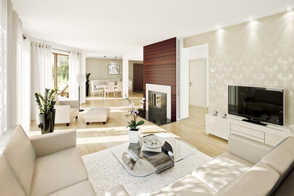 Mẫu thiết kế nội thất nhà liền kề đẹp - hiện đạ