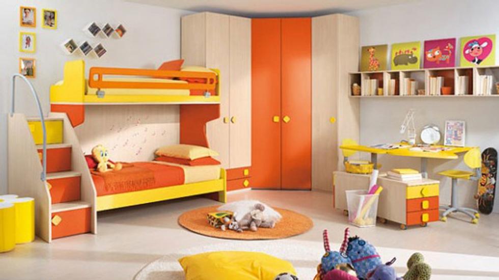 Giường tầng khiến không gian trở nên rộng rãi hơn