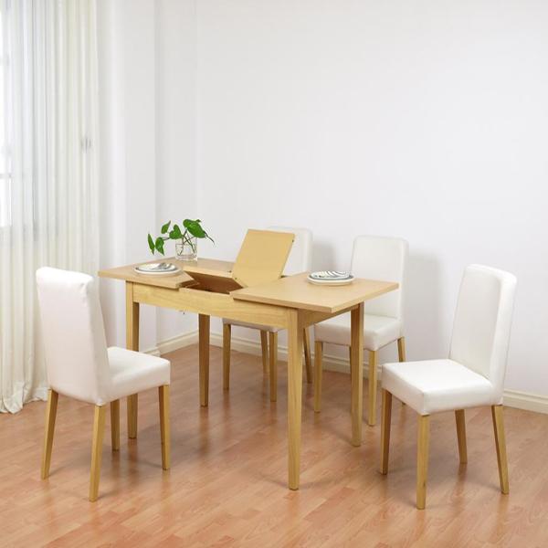 bo ban an thong minh Không gian nhà nhỏ mấy cũng có chỗ lắp bàn ăn thông minh tiện dụng