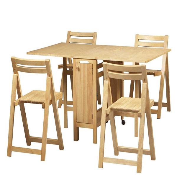 Mẫu bàn ăn xếp gọn