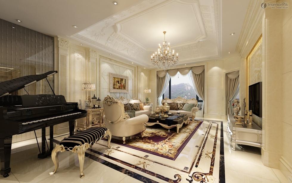 Thiết kế nội thất theo phong cách châu âu