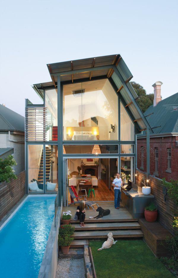 xây bể bơi trong nhà có diện tích nhỏ hẹp