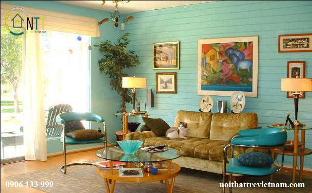 Phong cách Vintage đặc trưng trong ngôi nhà của bạn