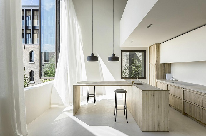 Phòng bếp phong cách Minimalism