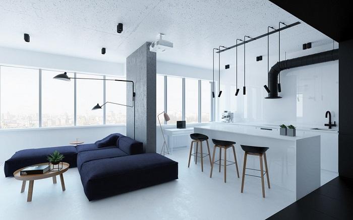 Kết quả hình ảnh cho phong cách minimalism trong nội thất