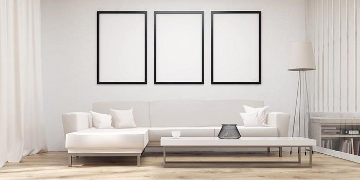 Căn phòng Minimalism với màu trắng chủ đạo