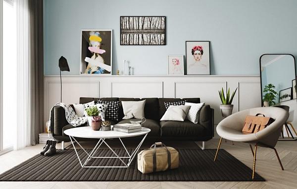 Phong cách nội thất Scandinavia