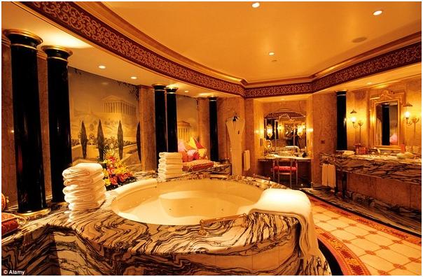 Nội thất phòng tắm khách sạn 5 sao