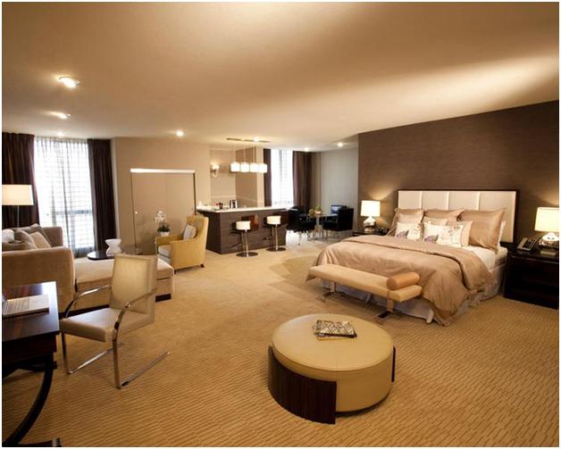 Phòng ngủ khách sạn luôn là nơi được chú trọng nhất