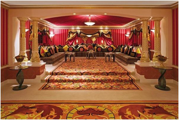 Nội thất phòng tiếp khách tại khách sạn 5 sao
