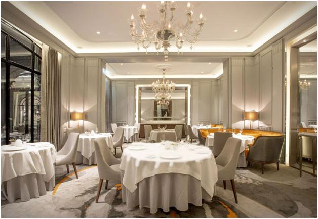 Nội thất nhà hàng phong cách Châu Âu mẫu 1