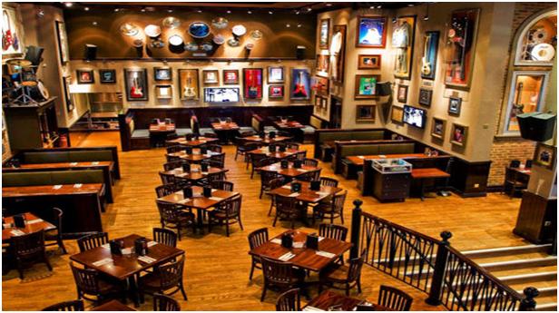 Nội thất nhà hàng phong cách Mỹ La Tinh mẫu 1