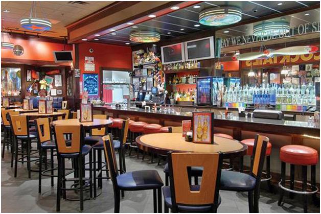 Nội thất nhà hàng phong cách Mỹ La Tinh mẫu 2