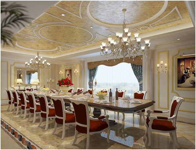 Nội thất nhà hàng phòng VIP, phòng riêng mẫu 2