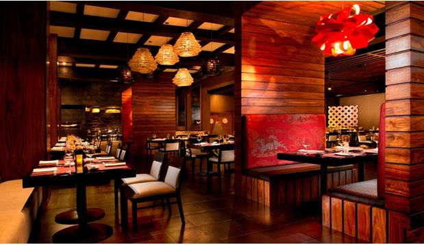 Nội thất nhà hàng phong cách Trung Hoa mẫu 1