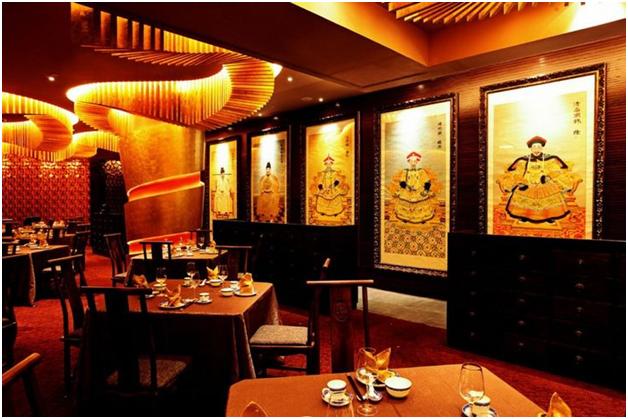 Nội thất nhà hàng phong cách Trung Hoa mẫu 2