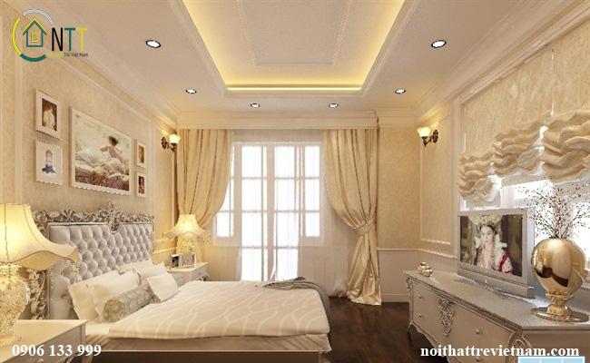 Phòng ngủ theo kiểu tân cổ điển