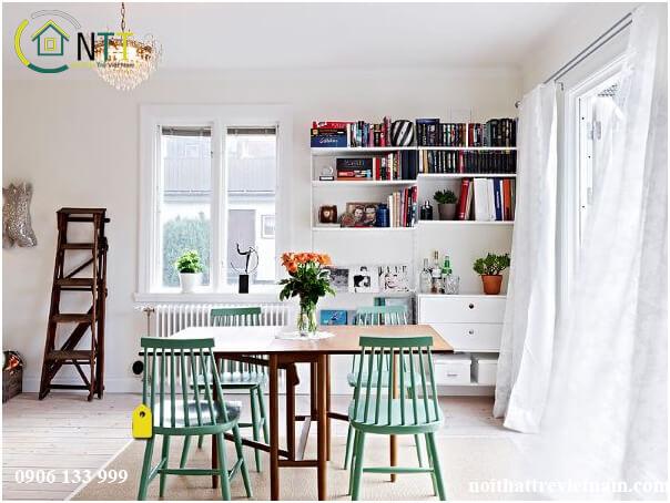 Thiết kế nội thất chung cư theo phong cách Bắc Âu