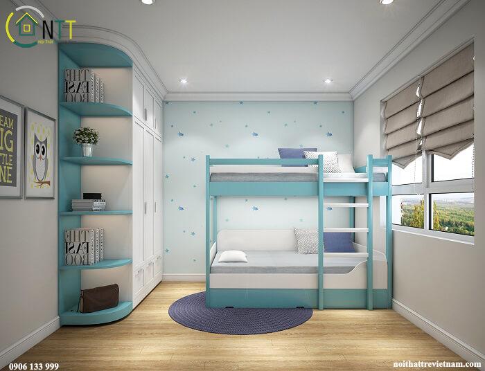 phòng trẻ em chung cư 70m2