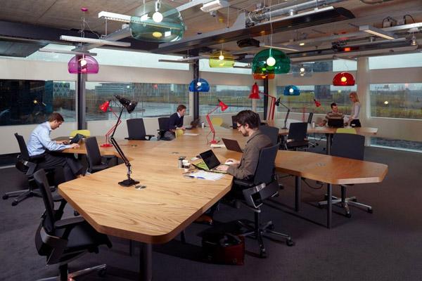 Không gian văn phòng thiết kế theo xu hướng mở