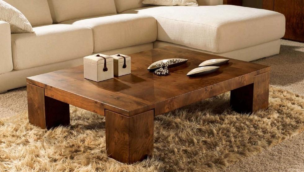 Bàn gỗ đơn giản cho mọi căn hộ