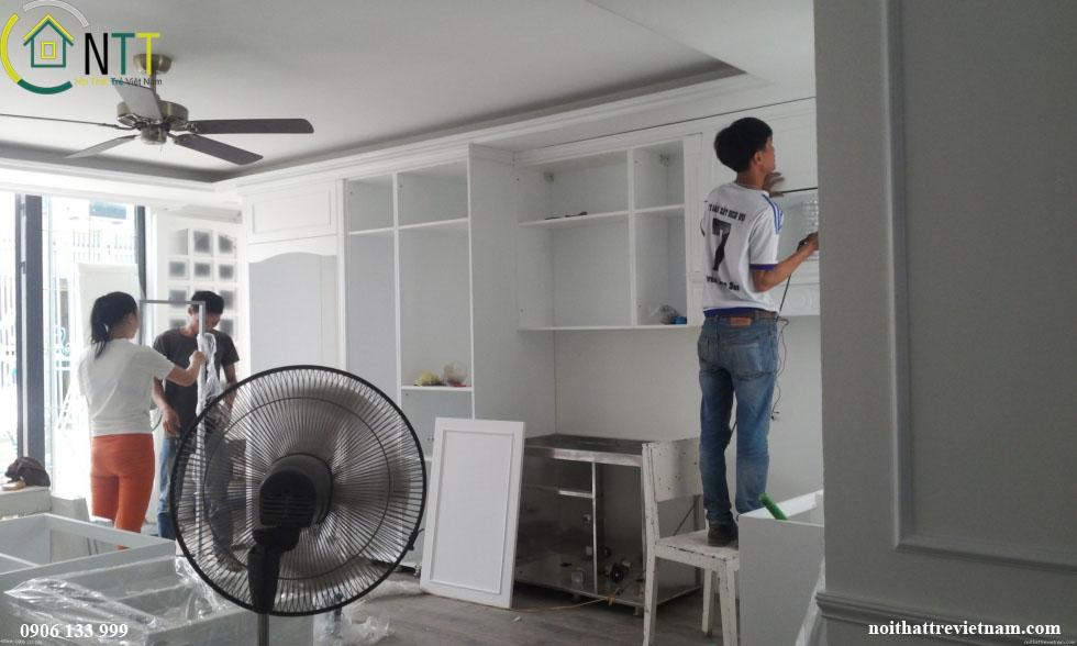 Báo giá hoàn thiện nội thất chung cư