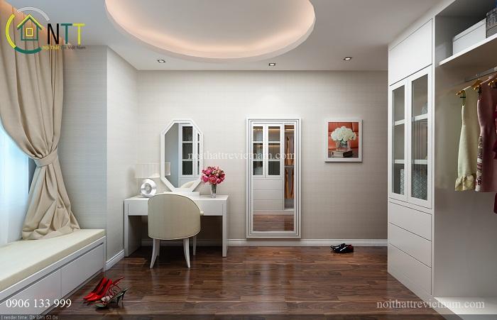 Trần thạch cao phòng ngủ độc đáo